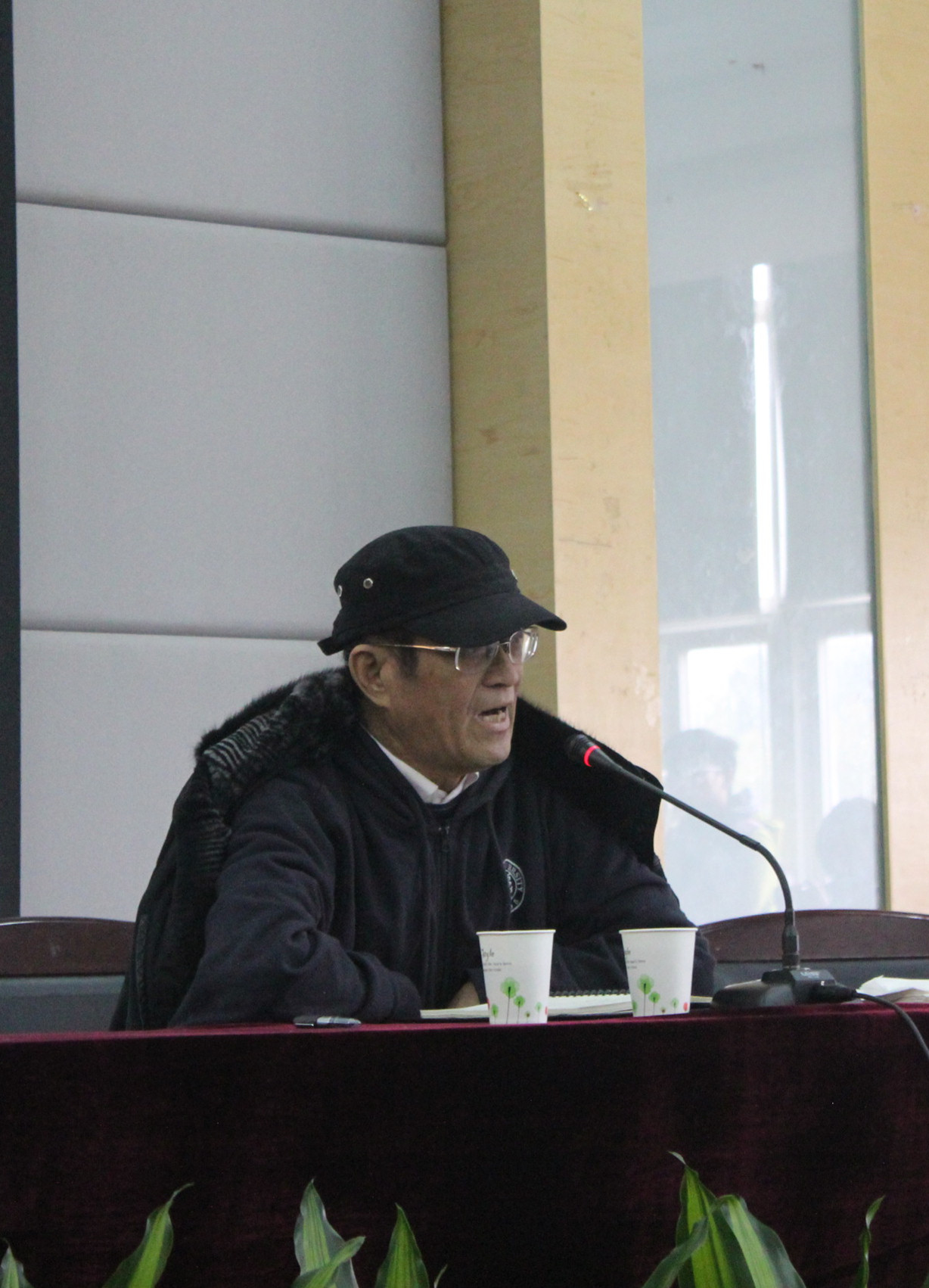 我院特邀知名学者谢百三教授开展学术专题讲座